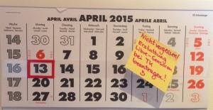 Kalendernotiz