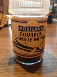 Bourbonvanille aus der Mühle (gibt es gelegentlich beim Aldi)
