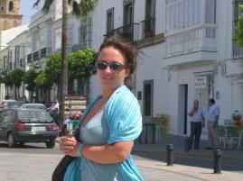 Auf dem Marktplatz von Medina Sidonia