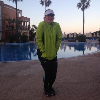 Andalusien hin oder her - morgens ist es hier noch ziemlich kalt!