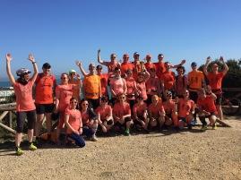 Danke an Marion für das Gruppenfoto von uns allen am Leuchtturm! :-)