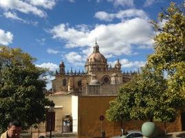 Die Kathedrale von Jerez