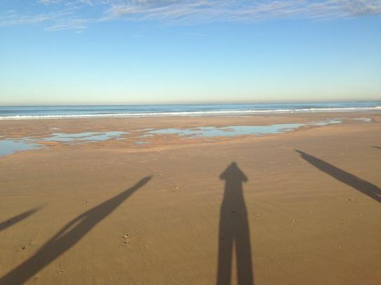 Morgensonne am Meer