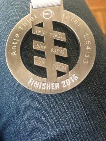 Meine Finisher-Medaille 2016