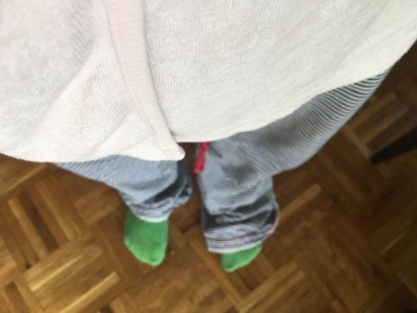 … und im Pyjama! :-)