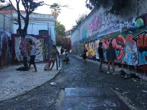 Graffitikünstler müssen nicht heimlich zur Spraydose greifen…