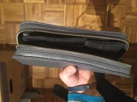 ABER: Wenn ich all meine Utensilien eingepackt habe, geht die Tasche leider nicht mehr zu!