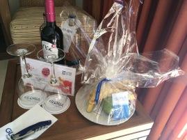 Willkommensgeschenk vom Hotel