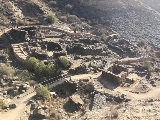 Archäologische Ausgrabungen bei Puerto de Mogán