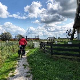 Meist führten die Routen über toll ausgebaute Radwege, gelegentlich aber auch über idyllische Buckelpisten